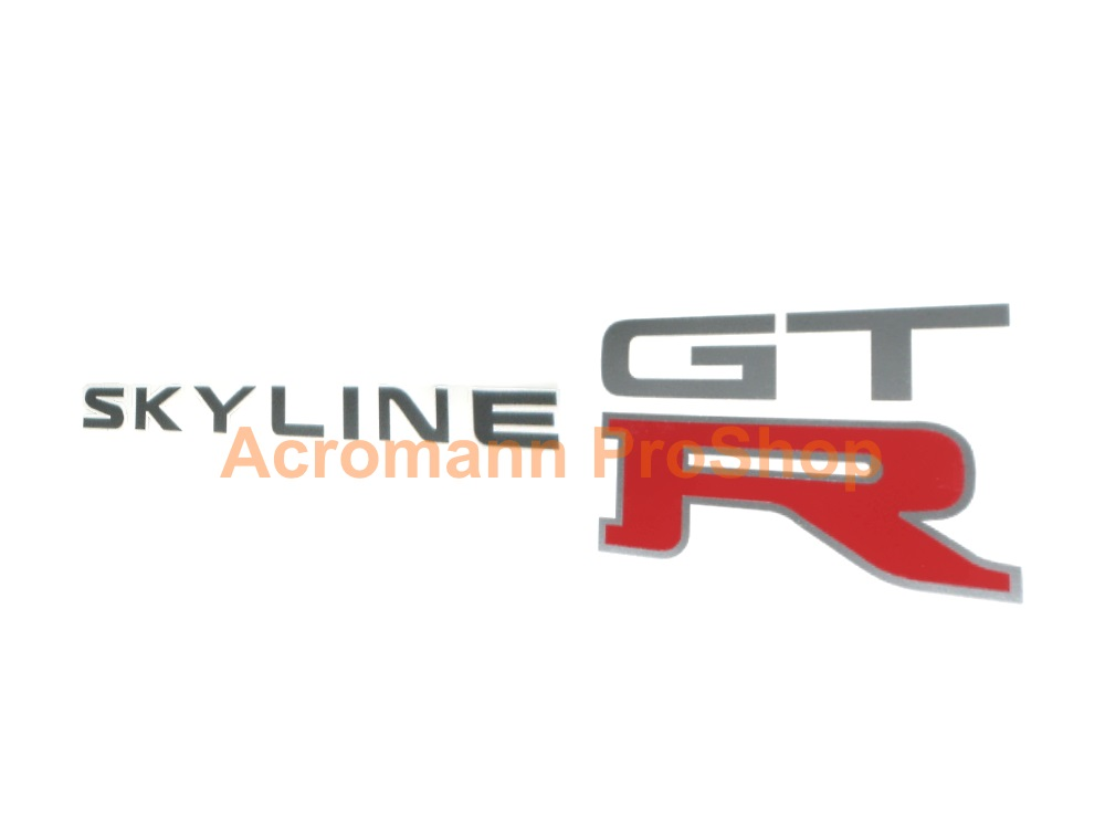 Skyline GTR (GT-R) 6inch Decal (Style#5) x 2 pcs